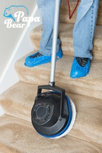 upholstery staircase cleaning by papa bear Clapham - common area cleaning service
