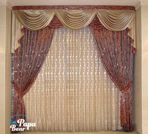 Marvelous curtains, cleaned
